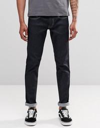 Темные стретчевые джинсы слим Replay Anbass - Темно-синий цвет