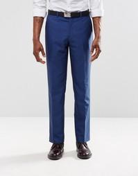 Ярко-синие брюки слим Harry Brown - Синий
