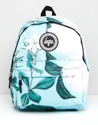 Эксклюзивный рюкзак с принтом цветов с листьями Hype - Leafy floral