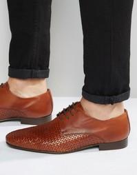 Светло-коричневые кожаные дерби ASOS - Рыжий