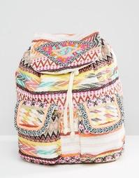 Рюкзак с гобеленовой отделкой Glamorous - Мульти