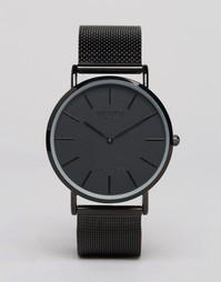 Черные классические часы Reclaimed Vintage - Черный