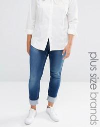 Узкие джинсы размера плюс Junarose Plus - Среднесиний