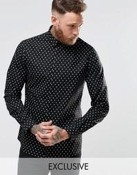 Рубашка с черепами Noose & Monkey - Черный