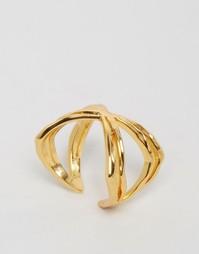 Широкое кольцо Gorjana Skyler - Золотой
