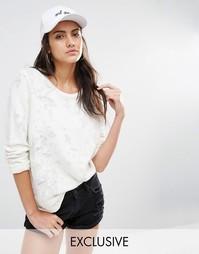 Бейсболка с вышивкой Adolescent Clothing Girl Gang - Белый