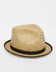 Соломенная шляпа Catarzi - Бежевый