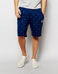 Шорты с логотипом-трилистником и принтом в горошек Аdidas Original AO0 Adidas Originals