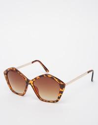 Большие солнцезащитные очки AJ Morgan - Черепаховый