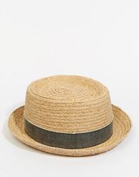 Соломенная шляпа-поркпай Esprit - Бежевый