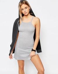 Трикотажное платье Boohoo - Серый