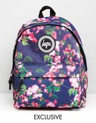 Эксклюзивный маленький рюкзак с цветочным принтом Hype