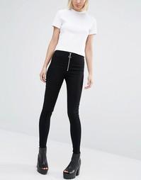 Супероблегающие джинсы Cheap Monday - Front black
