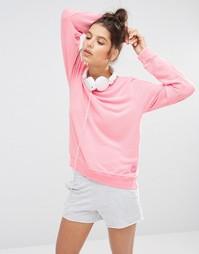 Неоно-розовый свободный пляжный джемпер Wildfox - Неоновый розовый