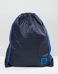 Синий спортивный рюкзак New Balance 410 - Синий