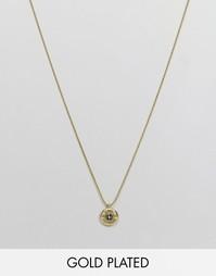 Ожерелье с позолотой 18 карат и подвеской-гильзой Lovebullets Love