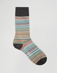 Носки в классическую разноцветную полоску Paul Smith - Мульти
