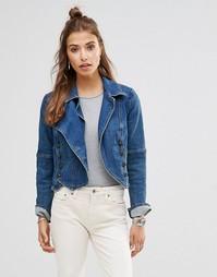 Джинсовая куртка Free People - Винтажный синий