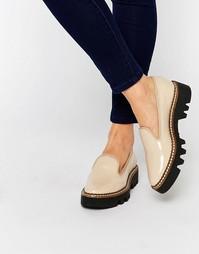 Туфли на массивной подошве ALDO - Телесный