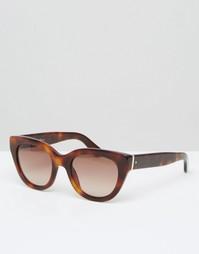 Солнцезащитные очки кошачий глаз Hugo Boss