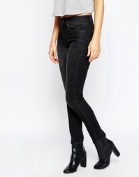 Черные выбеленные джинсы скинни Kubban - Выбеленный черный