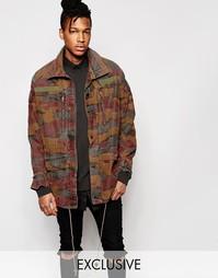 Куртка камуфляжной расцветки Reclaimed Vintage - Коричневый
