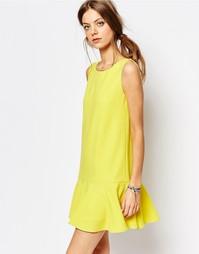 Желтое платье с заниженной талией Suncoo - Желтый