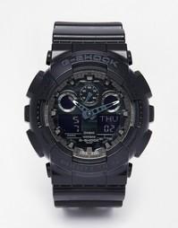 Аналоговые часы G-Shock GA-100CF-1AER - Черный