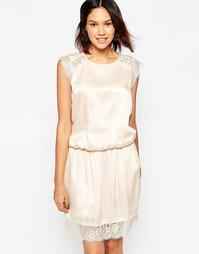 Платье с кружевной вставкой Gestuz Katya - Shell