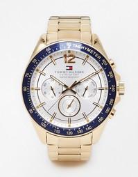 Часы из нержавеющей стали Tommy Hilfiger Luke 1791121 - Золотой
