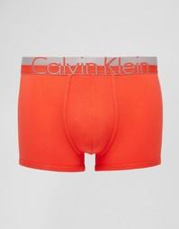 Хлопковые боксеры-брифы Calvin Klein Magentic - Красный
