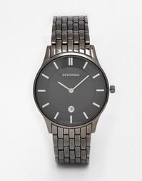 Черные часы из нержавеющей стали Sekonda 1152 - Черный