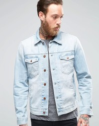 Светлая джинсовая куртка Wrangler - Brisbane