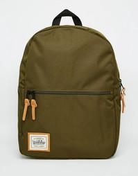 Рюкзак с карманом на молнии Workshop - Зеленый