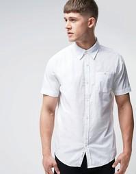 Оксфордская рубашка классического кроя Bellfield - Белый