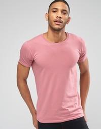 Эластичная розовая футболка Lindbergh - Роза