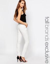 Строгие брюки‑сигареты True Decadence Tall - Кремовый