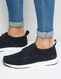 Замшевые кроссовки Farah Quan - Темно-синий