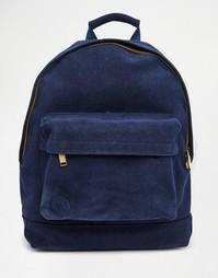 Темно-синий замшевый рюкзак Mi-Pac - Темно-синий