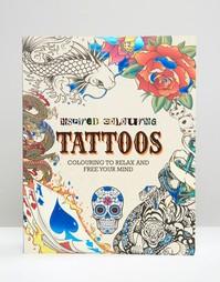 Книга-раскраска с татуировками - Мульти Books