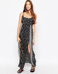 Платье макси с разрезами по бокам Diya