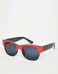 Солнцезащитные очки в стиле ретро Hollister - Черный