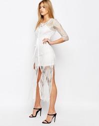 Кружевное платье-комбинация Goldie Karley - Слоновая кость