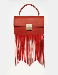 Сумка через плечо с бахромой Glamorous - Красный