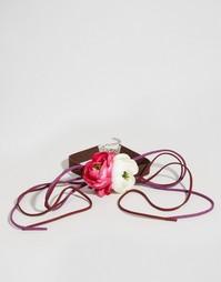 Ожерелье-чокер с цветами ASOS - Мульти