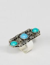 Кольцо с камнями и отделкой ASOS - Мульти