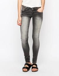 Облегающие джинсы Blend She Glow Shady - Серый деним