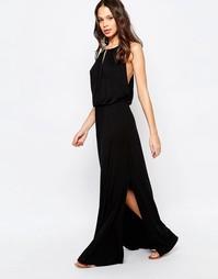 Пляжное платье макси Melissa Odabash - Черный