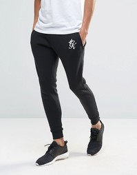 Облегающие спортивные штаны Gym King - Черный