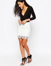 Кружевная юбка Japonica - Белый